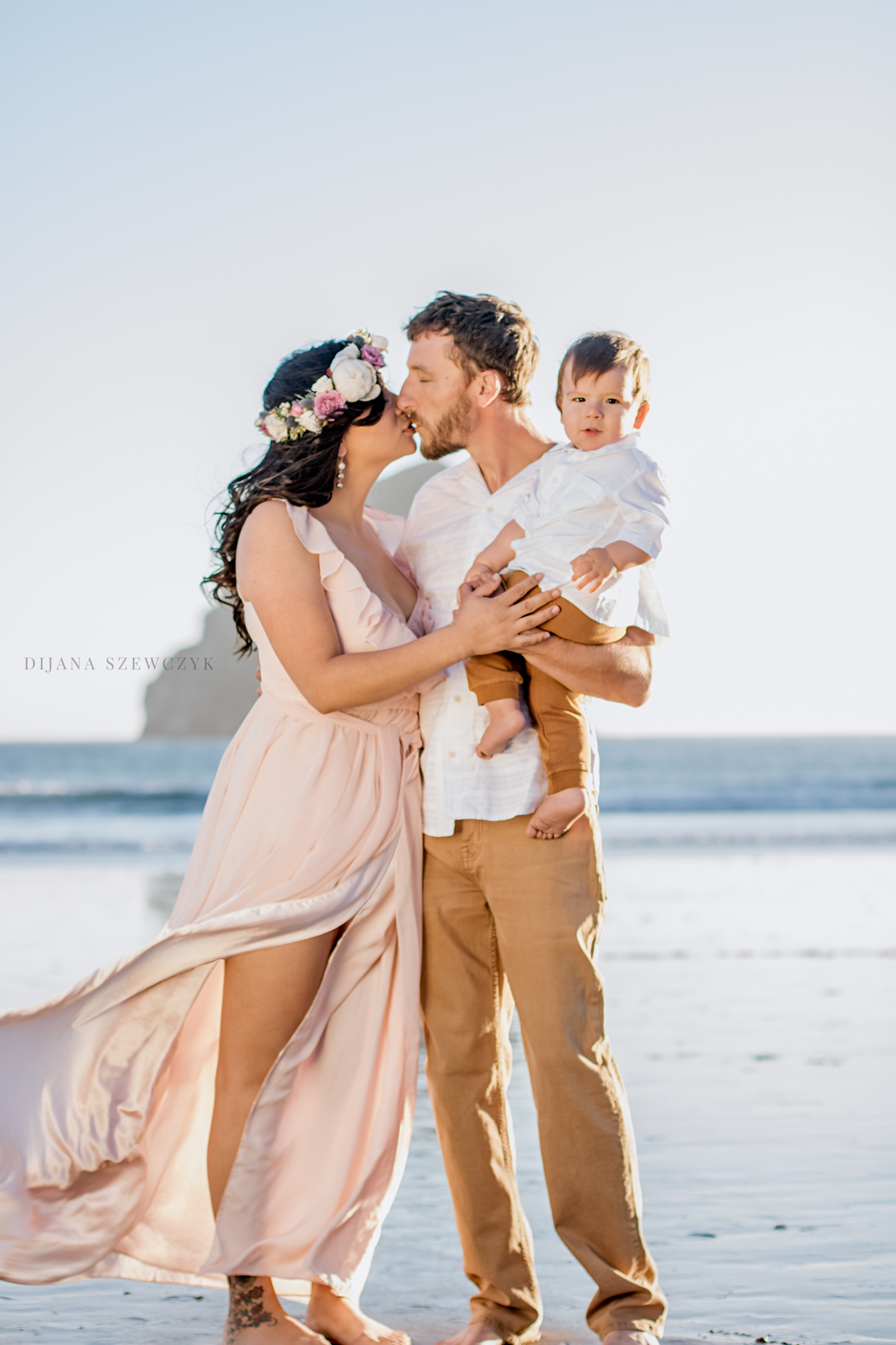 intimate family session oregon