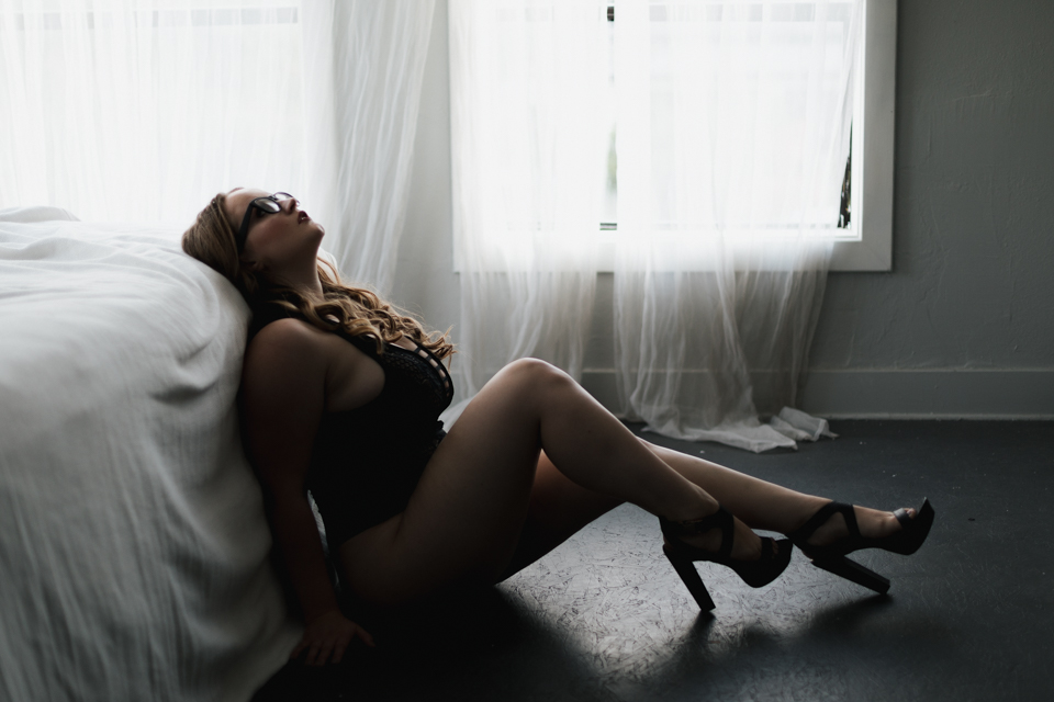 plus size boudoir portland oregon