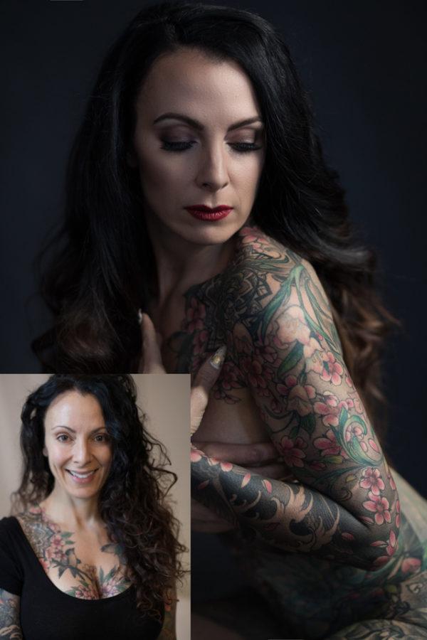 tattoo art full body woman