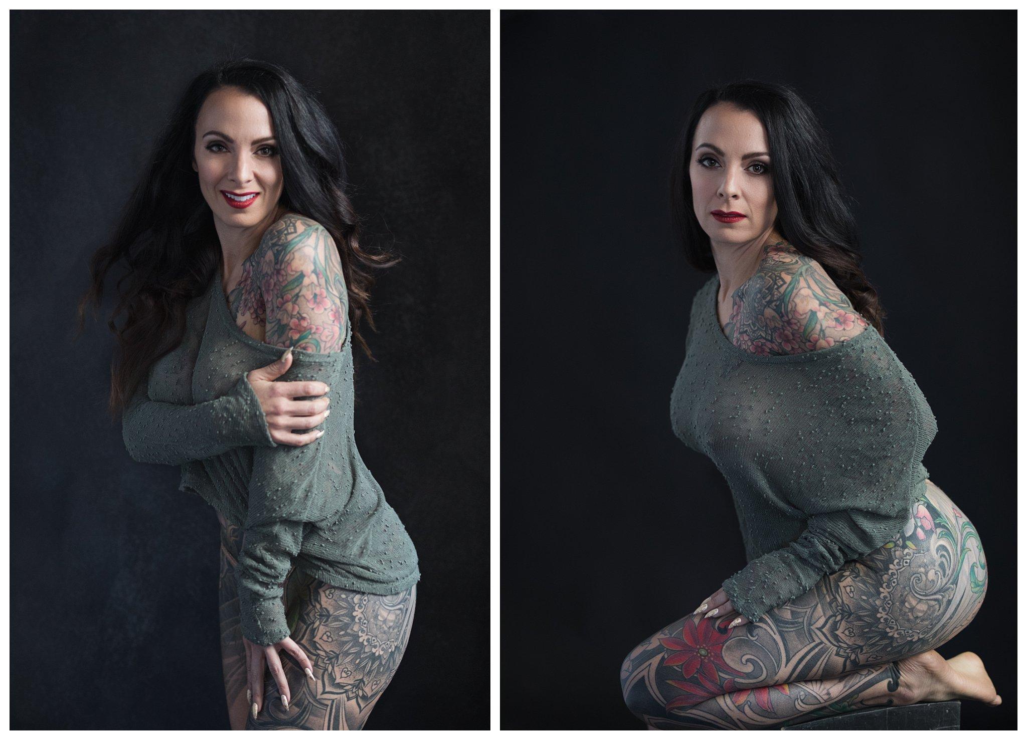 sexy photos tattoo woman oregon